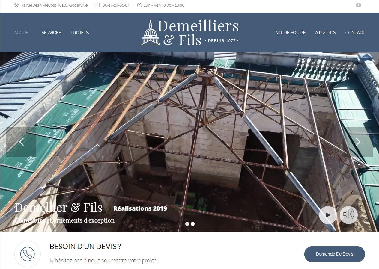 Site Internet Démo Demeilliers-et-fils