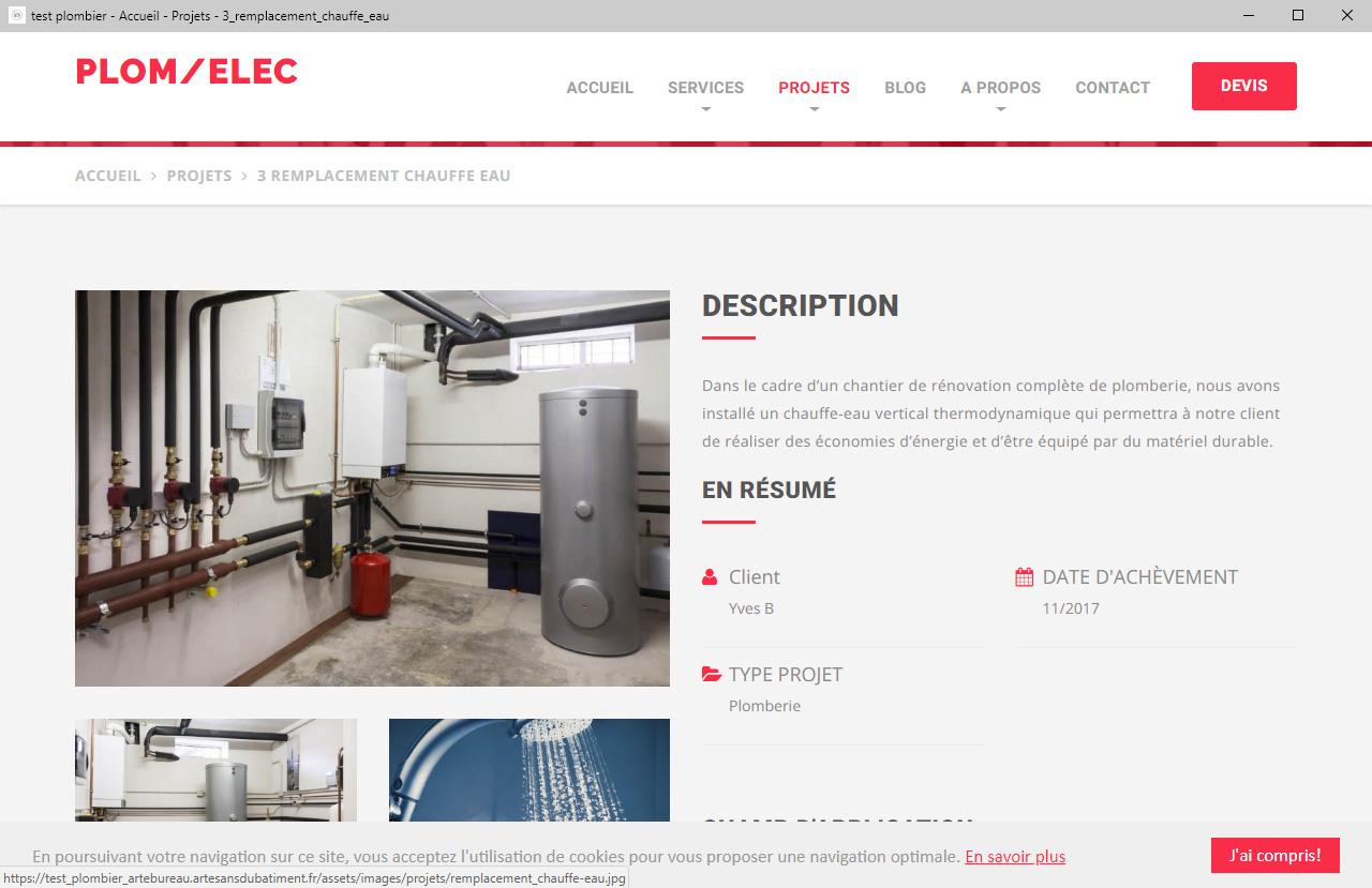 Etude De Marche Artisan Electricien création site internet pour électricien et entreprise d